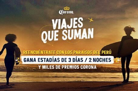 """""""Viajes Que Suman"""": nueva campaña de Corona para reactivar el turismo nacional"""
