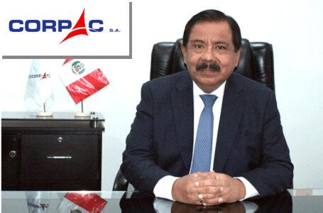 Ramón Huapaya asume como nuevo presidente de Corpac en reemplazo de Jorge Salinas
