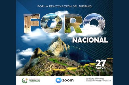 Machu Picchu espera participación de candidatos presidenciales en foro sobre reactivación turística