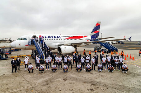 Selección peruana realizará primer vuelo carbono neutro junto a Latam Airlines