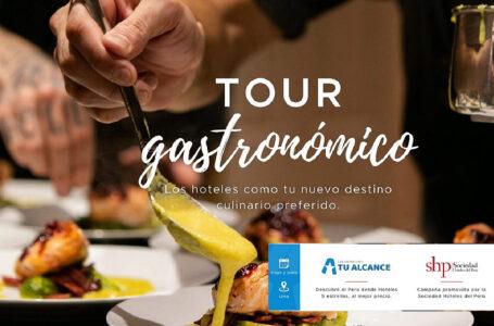SHP: hoteles organizan tour gastronómico del 24 de mayo al 4 de junio