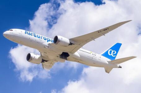 Air Europa operará en julio el 87% de sus rutas de largo radio