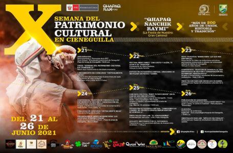 """Cieneguilla celebrará su """"X Semana del Patrimonio Cultural"""" del 21 al 26 de junio"""