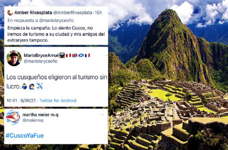 Usuarios de redes sociales rechazan campaña para no viajar a Cusco por resultados electorales