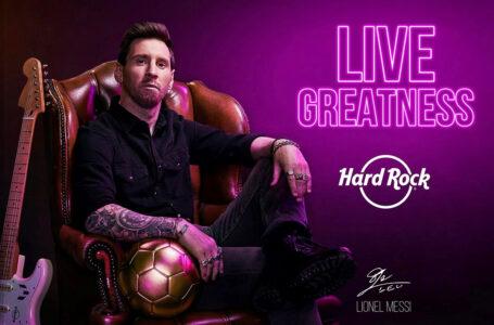 Hard Rock presenta a Lionel Messi como el nuevo embajador de su marca