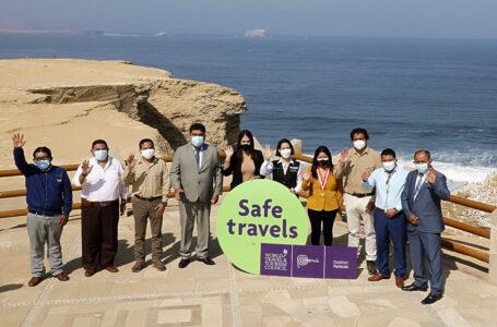 """Destinos Ica, Nasca y Paracas obtienen el sello internacional """"Safe Travels"""""""