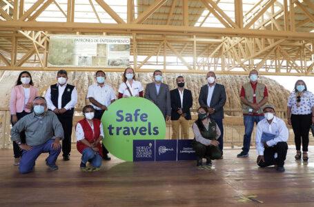 "Mincetur otorgó el sello internacional ""Safe Travels"" al Destino Lambayeque"