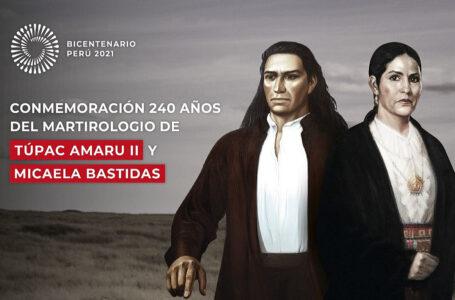 Muestra sobre Túpac Amaru y Micaela Bastidas se traslada a Cusco por el Bicentenario