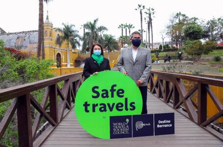 """Barranco se suma a lista de destinos turísticos seguros con sello """"Safe Travels"""""""