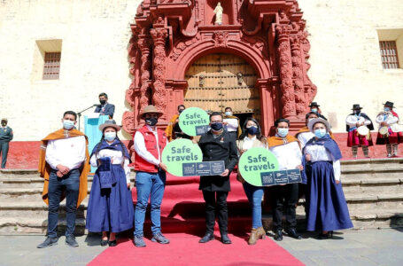 "Destino Huancavelica obtuvo el sello internacional ""Safe Travels"""