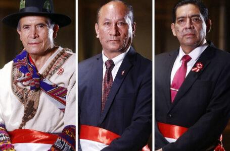 Nuevos ministros: Ciro Gálvez en Cultura, Juan Silva en MTC y Rubén Ramírez en Ambiente