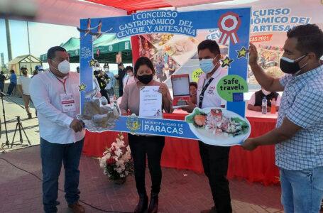 """Más de 4 mil visitantes disfrutaron del """"I Concurso de Ceviche y Artesanía"""" en Paracas"""
