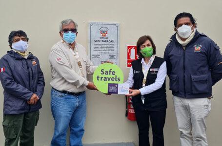 """Reserva Nacional de Paracas y las islas Ballestas recibieron el sello internacional """"Safe Travels"""""""