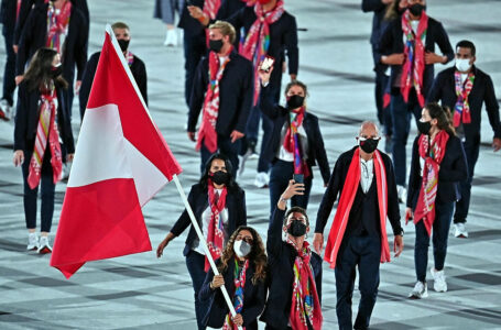 Perú hace flamear sus colores rojiblancos en los Juegos Olímpicos Tokio 2020
