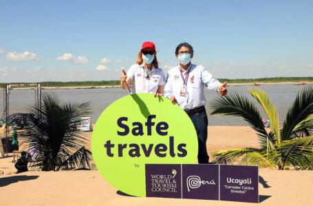 Ucayali recibe sello internacional Safe Travels como destino seguro para turistas