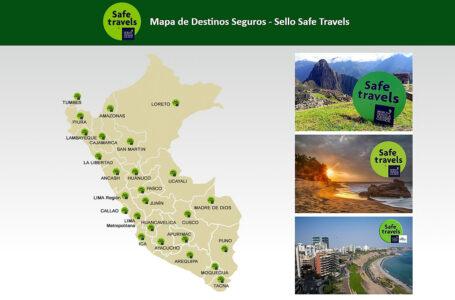 """Conoce los destinos turísticos del Perú que cuentan con sello internacional """"Safe Travels"""""""