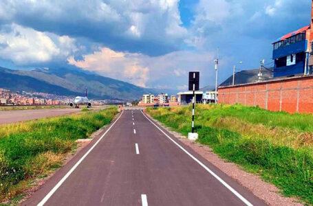 Culmina la construcción del cerco y vía perimetral del aeropuerto del Cusco