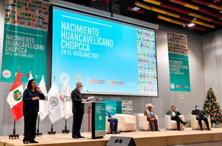 Canciller Maúrtua agradece al Vaticano por acoger nuestra riqueza cultural