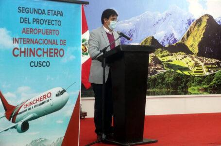 Aeropuerto de Chinchero generará empleos para más de un millón personas en Cusco