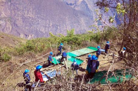 Retiran ocho construcciones clandestinas en parque arqueológico de Choquequirao