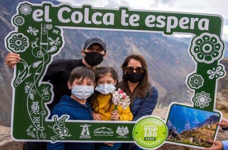 Valle del Colca en Arequipa recibió 63 mil turistas en lo que va del año