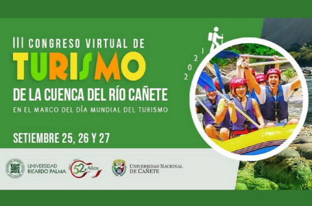 Organizan III Congreso Virtual de Turismo de la Cuenca del Río Cañete
