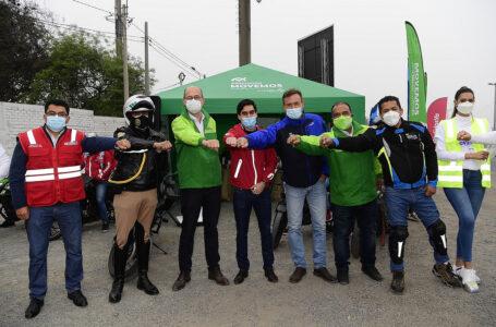 Primera escuela de motociclistas busca disminuir siniestros viales en Perú